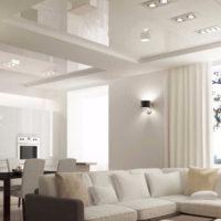 Установка натяжного потолка в квартире
